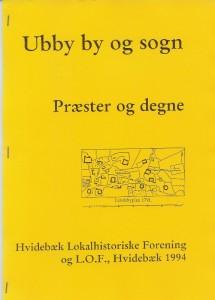 Præster og degne i Ubby