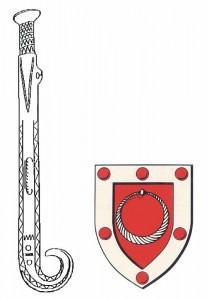 Sværd +Våbenskjold