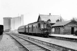 Veterantog på Gørlev station