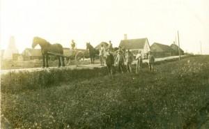 Forsinge teglværk ca. 1900