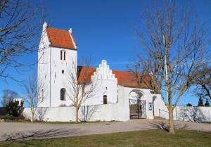 St. Fuglede kirke, bygget ca. år 1200
